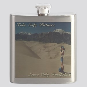 Take only pictures. Leave only footprints. Flask