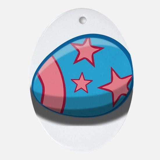 Easter Egg Ornament (Oval)