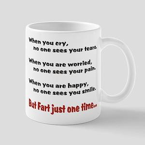 Fart Once Mug