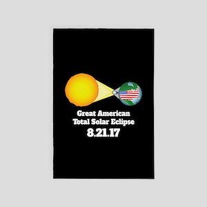 Solar Eclipse 4' x 6' Rug