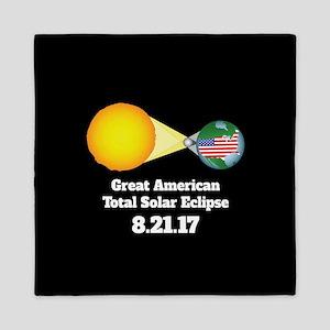 Solar Eclipse Queen Duvet