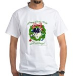 Buzz's Happy BC Holidays White T-Shirt