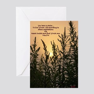 Sunrise Sand Greeting Card