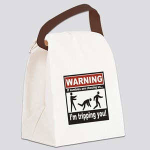 Zombie Trip Canvas Lunch Bag