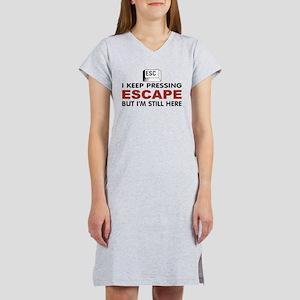Escape Key Women's Nightshirt
