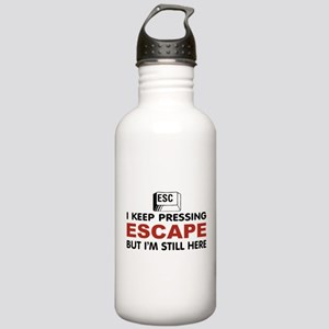 Escape Key Stainless Water Bottle 1.0L