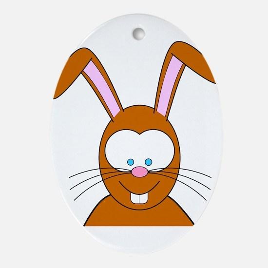 Bunny Ornament (Oval)
