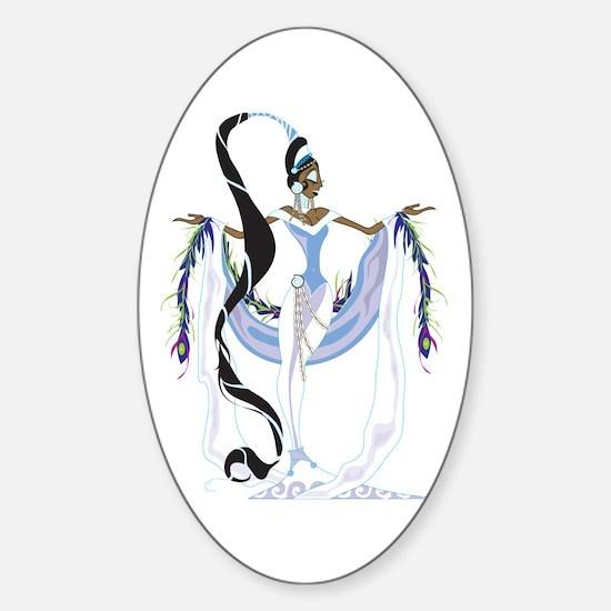 Yemaya Divina Sticker (Oval)