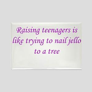 Raising teenagers Rectangle Magnet