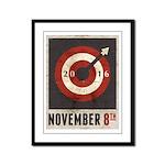 November 8, 2016 Framed Panel Print