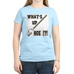 What's up Hoe !?! Women's Pink T-Shirt