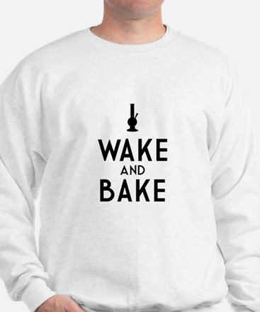 Wake and Bake Bong Dark Jumper