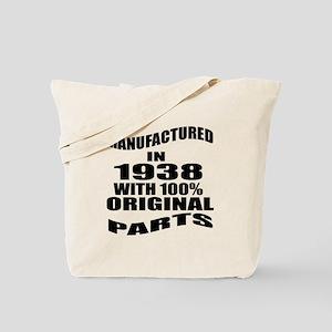 Manufactured in 1938 Tote Bag