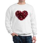 Big red heart Sweatshirt