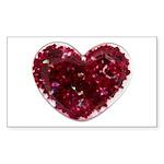 Big red heart Sticker