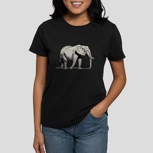 Elephant Women's Dark T-Shirt