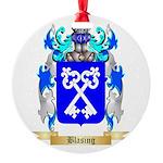 Blasing Round Ornament
