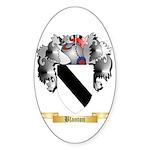 Blanton Sticker (Oval 50 pk)