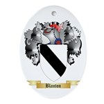 Blanton Ornament (Oval)