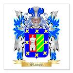 Blanqui Square Car Magnet 3
