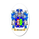 Blanqui 20x12 Oval Wall Decal