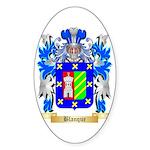 Blanque Sticker (Oval)