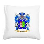 Blanque Square Canvas Pillow