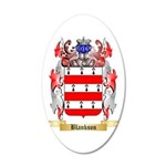 Blankson 20x12 Oval Wall Decal