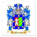 Blanker Square Car Magnet 3