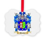 Blanker Picture Ornament
