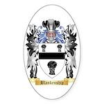Blankenship Sticker (Oval 50 pk)