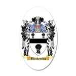 Blankenship 35x21 Oval Wall Decal