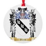 Bland Round Ornament