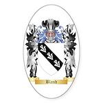 Bland Sticker (Oval 50 pk)