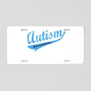 Team Autism Awareness Aluminum License Plate