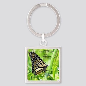 Thinking Butterfly Keychains