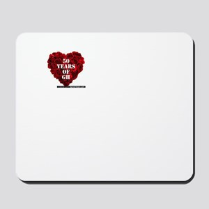 General Hospital 50th Anniversary Heart Mousepad