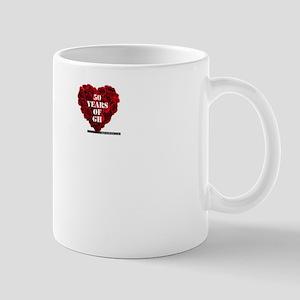 General Hospital 50th Anniversary Heart Mug