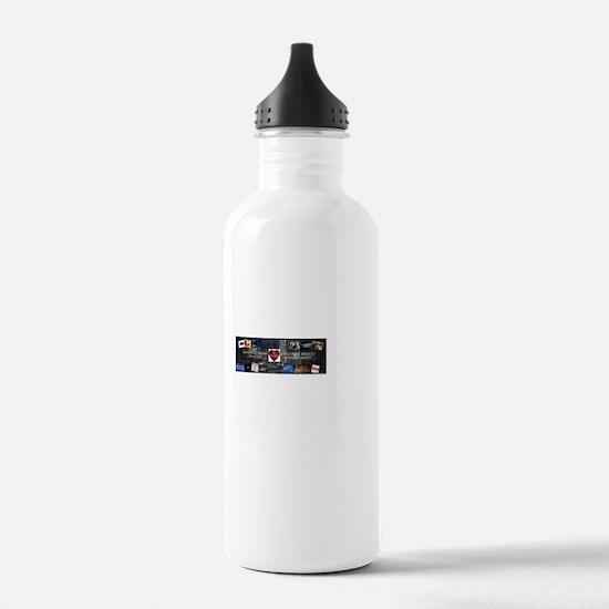 RHeart Network Logo Water Bottle