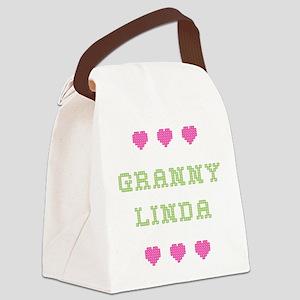 Granny Linda Canvas Lunch Bag