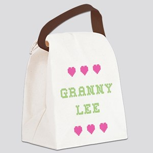 Granny Lee Canvas Lunch Bag