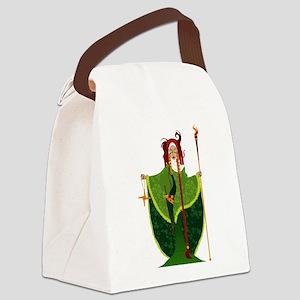St. Brigid of Ireland Canvas Lunch Bag