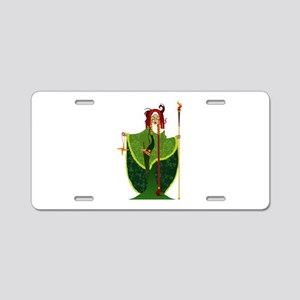 St. Brigid of Ireland Aluminum License Plate