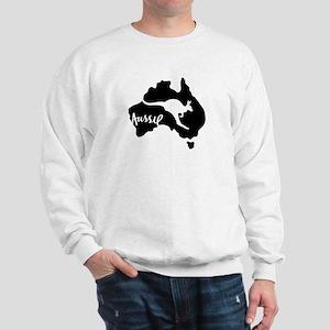 Aussie Roo Black - Sweatshirt