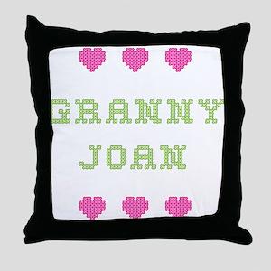 Granny Joan Throw Pillow