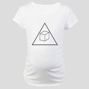 Delta Cubes Maternity T-Shirt