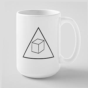 Delta Cubes Large Mug