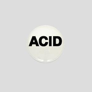 ACID TEXT Mini Button