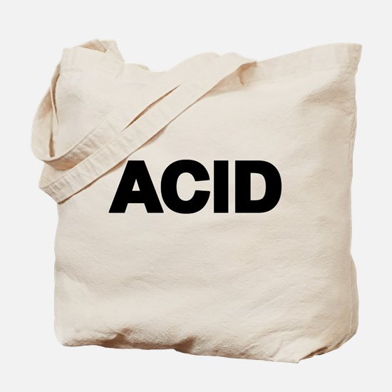 ACID TEXT Tote Bag