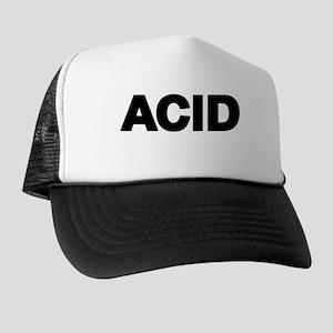 ACID TEXT Trucker Hat